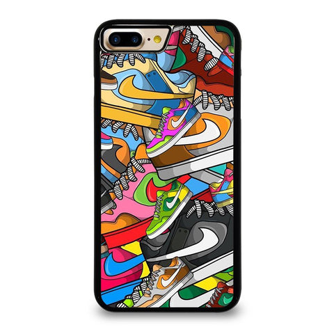 NIKE SHOES ART COLLAGE iPhone 8 Plus Case