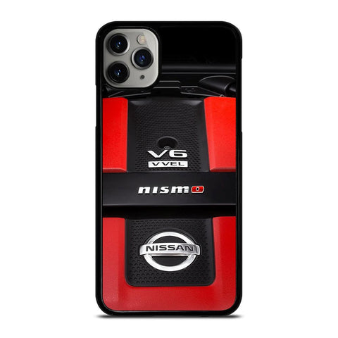 NISSAN NISMO GTR TURBO ENGINE iPhone 11 Pro Max Case
