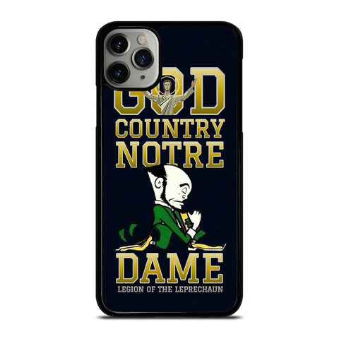 NOTRE DAME GOD COUNTRY-iphone-11-pro-max-case