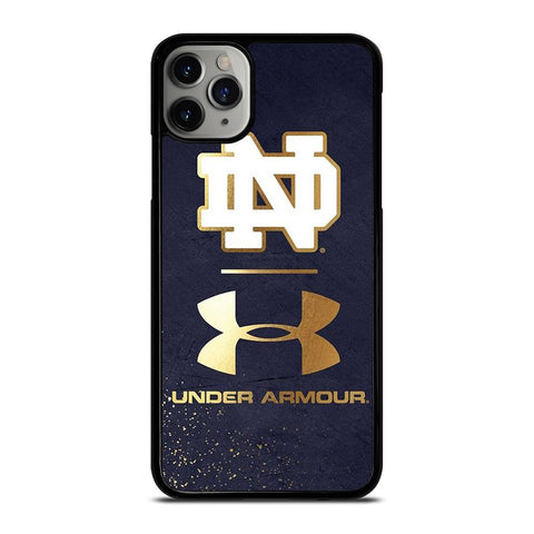 NOTRE DAME UNDER ARMOUR-iphone-11-pro-max-case