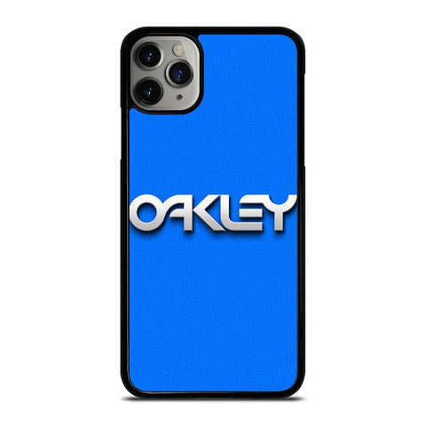 OAKLEY LOGO BLUE SOLID iPhone 11 Pro Max Case