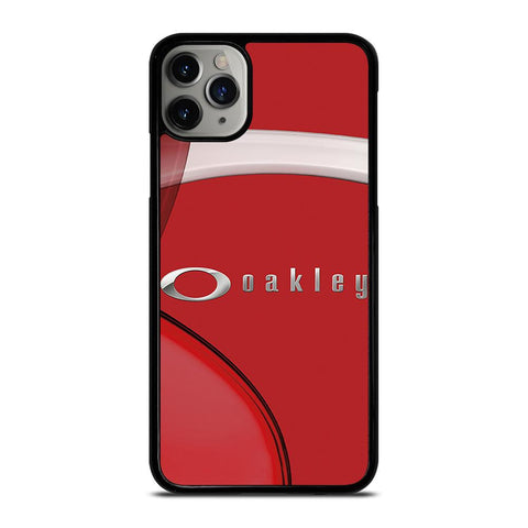 OAKLEY RED LOGO EMBLEM iPhone 11 Pro Max Case