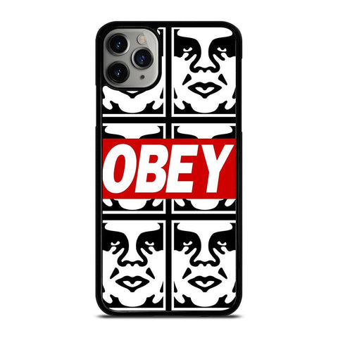 OBEY LOGO COLLAGE iPhone 11 Pro Max Case