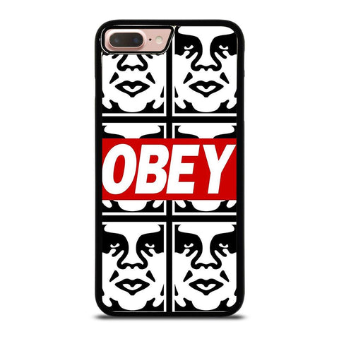 OBEY LOGO COLLAGE iPhone 8 Plus Case