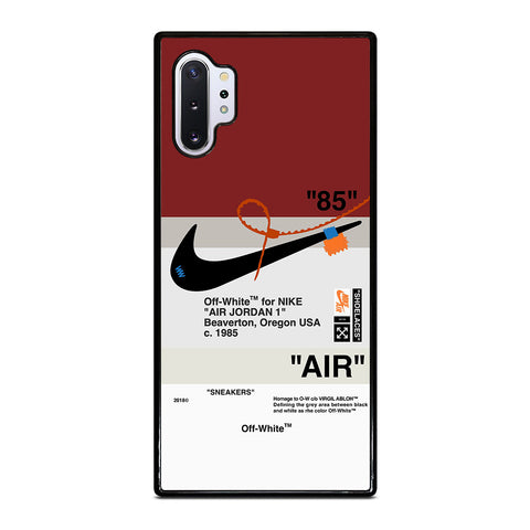 OFF WHITE NIKE AIR JORDAN Samsung Galaxy Note 10 Plus Case