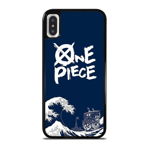 ONE PIECE BLUE ART iPhone X / XS Case