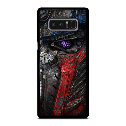 OPTIMUS PRIME TRANSFORMERS ART Samsung Galaxy Note 8 Case