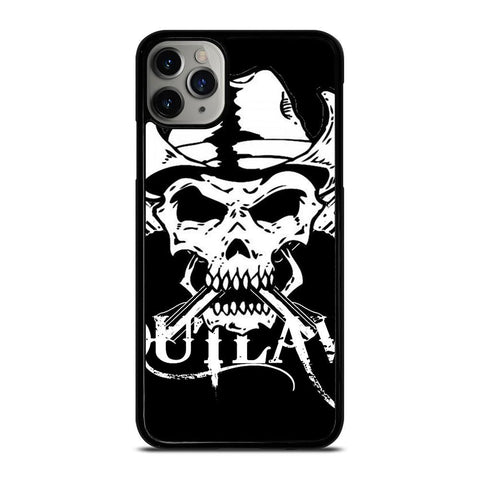 OUTLAW SKULL LOGO iPhone 11 Pro Max Case