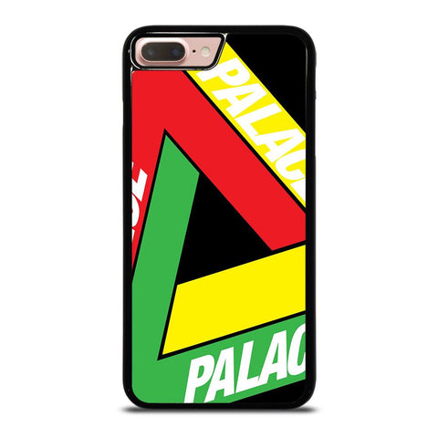 PALACE BIG LOGO RED YELLOW GREEN iPhone 8 Plus Case