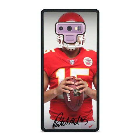 PATRICK MAHOMES KANSAS CITY CHIEFS Samsung Galaxy Note 9 Case