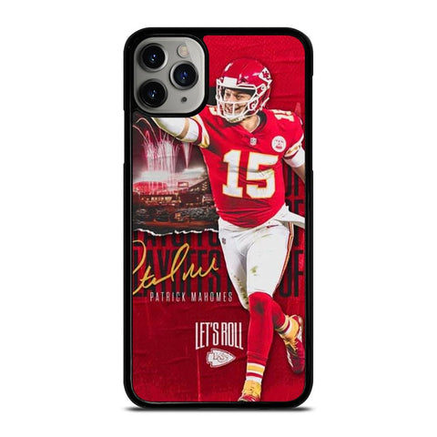 PATRICK MAHOMES KC CHIEFS-iphone-11-pro-max-case