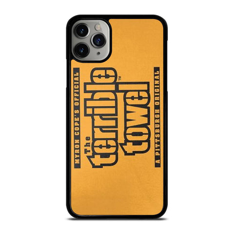 PITTSBURGH STEELERS TOWEL-iphone-11-pro-max-case