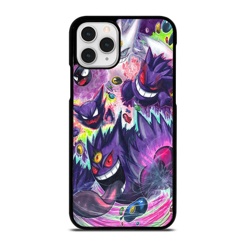 POKEMON GASTLY HAUNTER GENGAR ART-iphone-11-pro-case