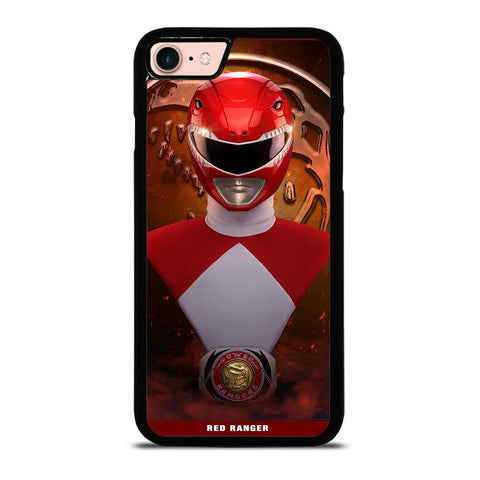 POWER RANGERS RED MIGHTY MORPHIN-iphone-8-case