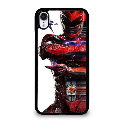 POWER RANGERS RED-iphone-xr-case