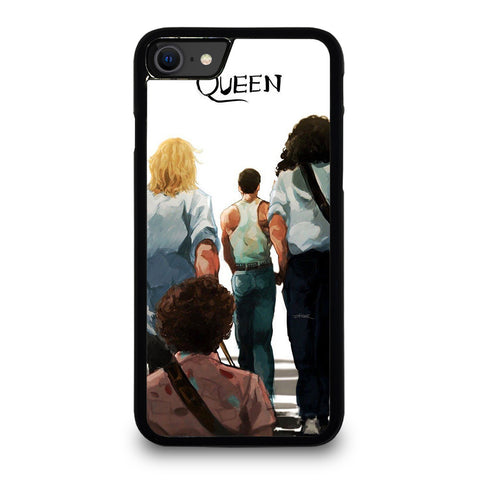 QUEEN ROCKBAND ART iPhone SE 2020 Case