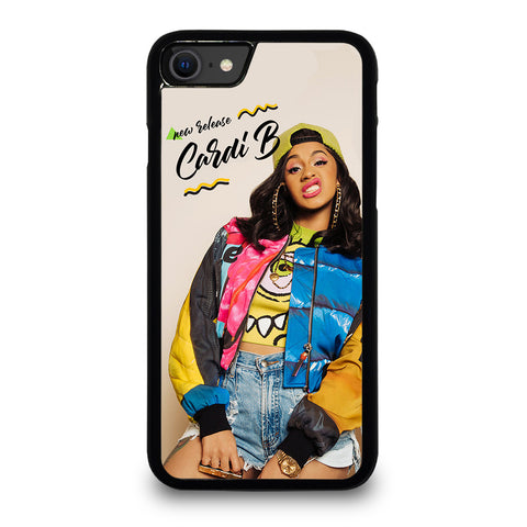 RAPPER CARDI B iPhone SE 2020 Case