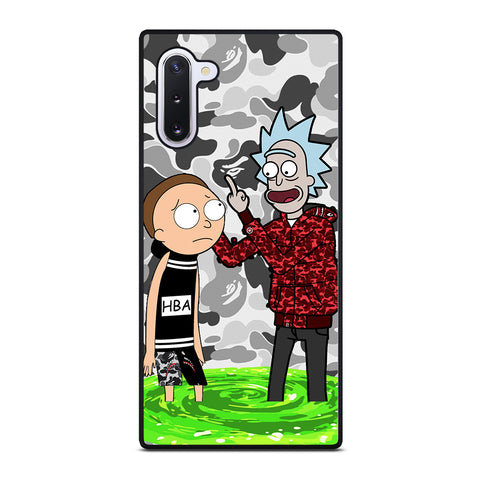 RICK AND MORTY BAPE Samsung Galaxy Note 10 Case