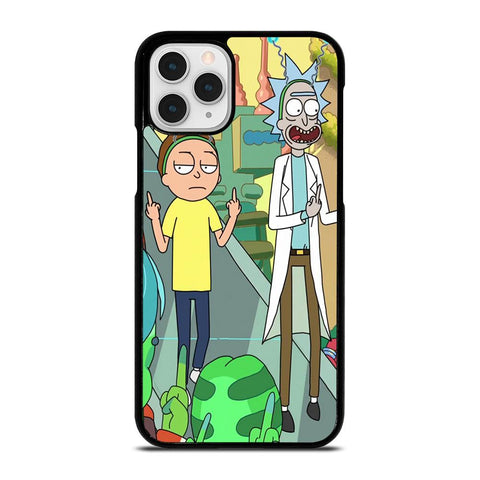 RICK AND MORTY CARTOON-iphone-11-pro-case