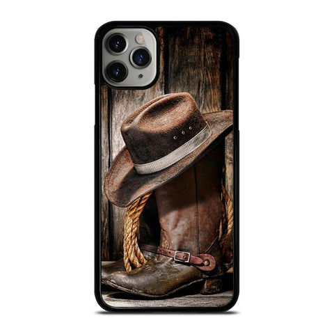 RODEO COWBOY LASSO BOOTS-iphone-11-pro-max-case