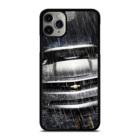 SILVER CHEVROLET CAMARO-iphone-11-pro-max-case