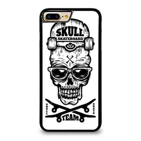 SKULL SKATEBOARD TEAM LOGO iPhone 7 Plus Case