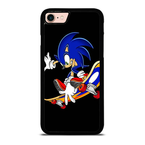 SONIC THE HEDGEHOG SKATEBOARD-iphone-8-case