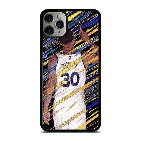 STEPHEN CURRY GOLDEN STATE-iphone-11-pro-max-case