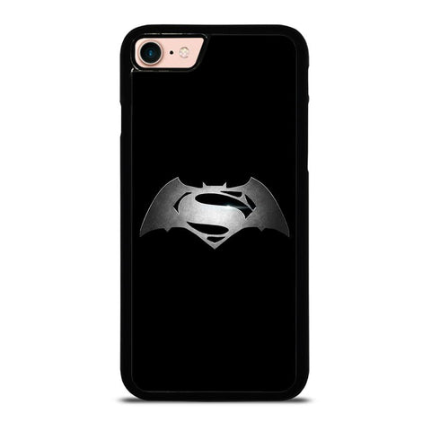 SUPERHEROES SUPERMAN VS BATMAN ICON-iphone-8-case