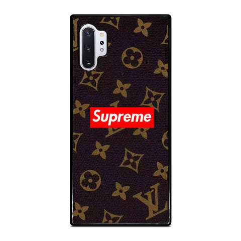 SUPREME BROWN Samsung Galaxy Note 10 Plus Case