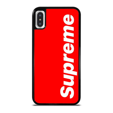 SUPREME RED LOGO iPhone X / XS Case