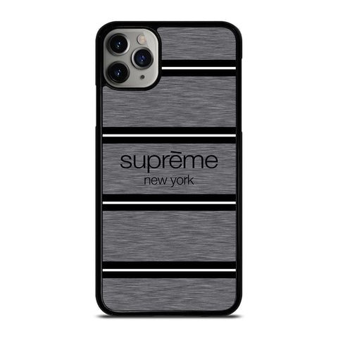 SUPREME NEW YORK STRIPE iPhone 11 Pro Max Case