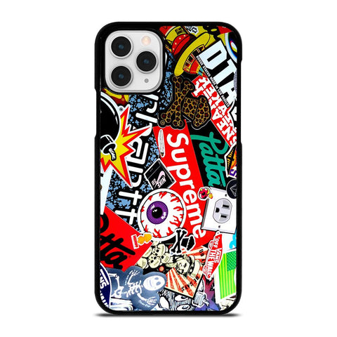 SUPREME STICKER AND OTHER BRAND-iphone-11-pro-case