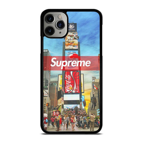 SUPREME TIME SQUARE iPhone 11 Pro Max Case