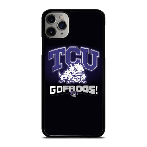 TCU HORNED FROGS COLLEGE-iphone-11-pro-max-case