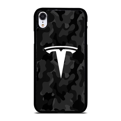 TESLA MOTORS LOGO CAMO iPhone X / XS Case