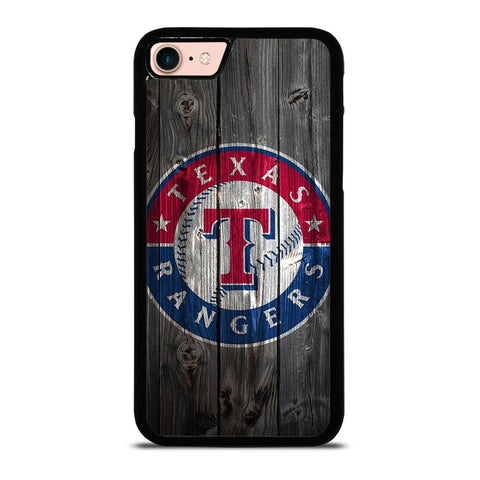 TEXAS RANGERS WOODEN LOGO-iphone-8-case