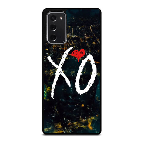 THE WEEKND BELONG TO THE WORLD Samsung Galaxy Note 20 Case
