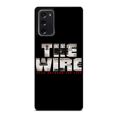 THE WIRE Samsung Galaxy Note 20 Case