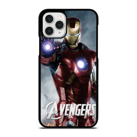 THE AVENGERS IRON MAN-iphone-11-pro-case