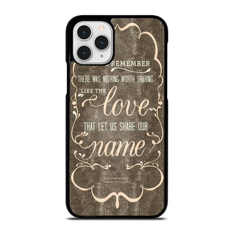 THE AVETT BROTHERS QUOTES-iphone-11-pro-case