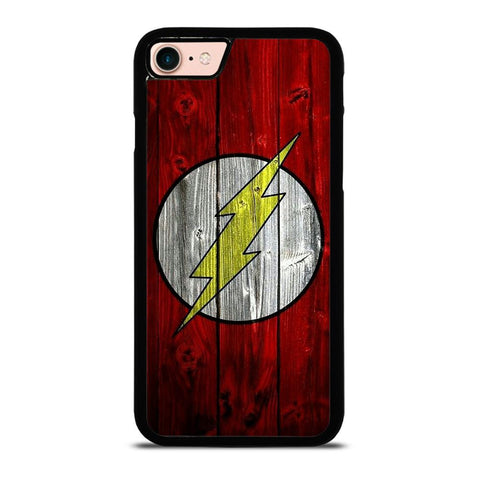 THE FLASH WOODEN-iphone-8-case
