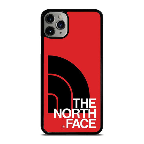 THE NORTH FACE LOGO BLACK RED iPhone 11 Pro Max Case