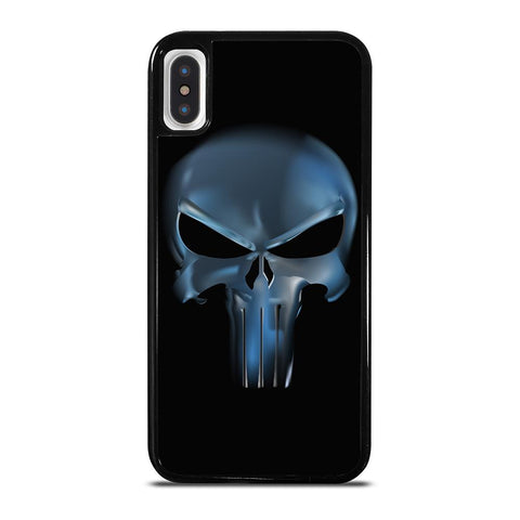 THE PUNISHER SKULL METAL LOGO iPhone X / XS Case