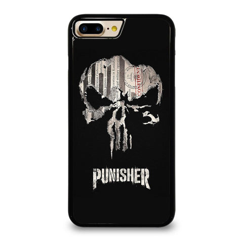 THE PUNISHER SKULL PAPER EFFECT ARTWORK iPhone 7 Plus Case