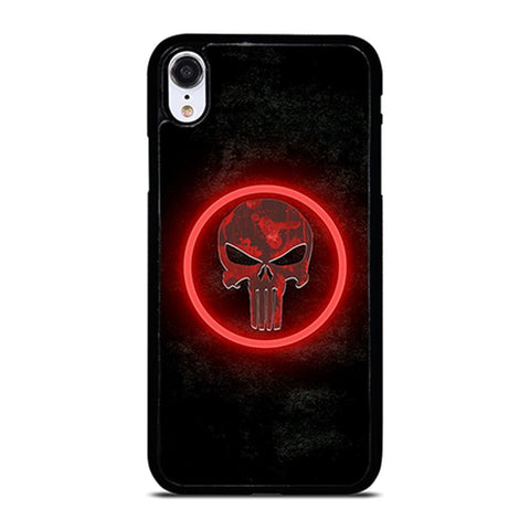 THE PUNISHER SKULL iPhone XR Case
