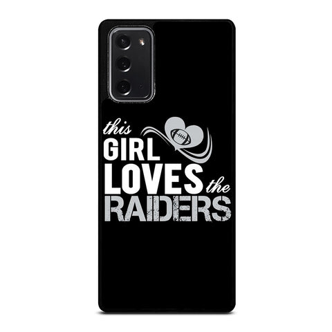 THIS GIRL LOVES THE RAIDERS 2 Samsung Galaxy Note 20 Case