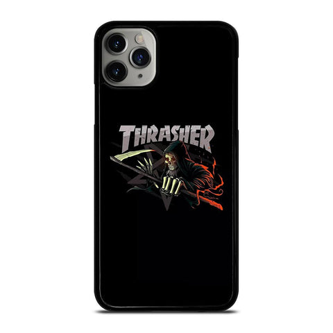 THRASHER LOGO SKULL iPhone 11 Pro Max Case