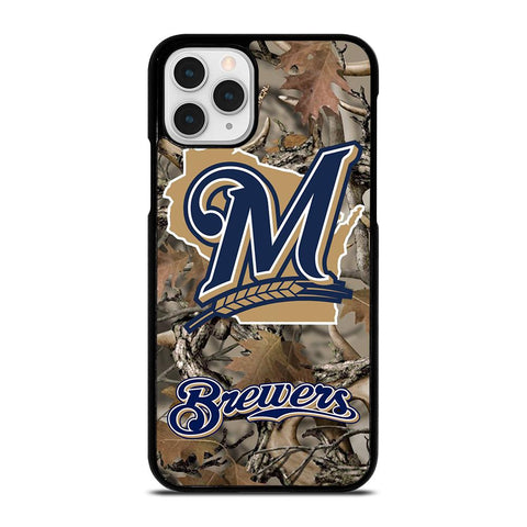 TREE CAMO MILWAUKEE BREWERS MLB-iphone-11-pro-case