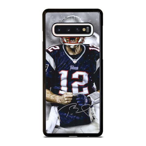 Tom Brady New England Patriots Nfl Samsung Galaxy S10 Case